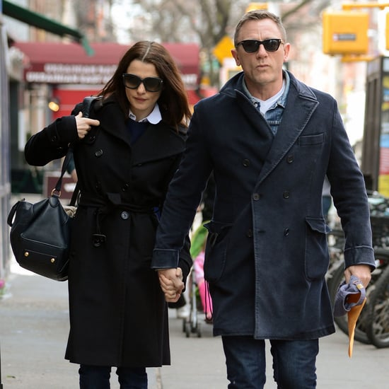 Daniel Craig and Rachel Weisz Hold Hands in NYC (Photos)
