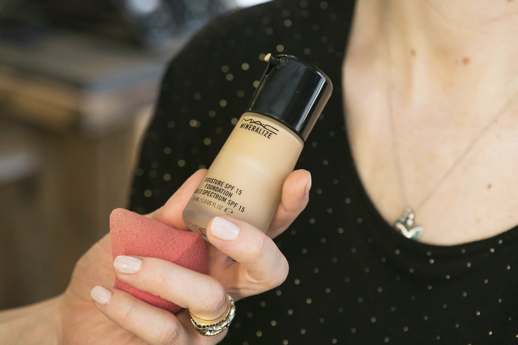 """It may sound like a makeup faux pas, but Bettelli recommends starting with a foundation that's one to two shades darker than your complexion if you're going for a bronzed makeup look. """"Mineralize Moisture ($33) is my favorite for the Spring/Summer season,"""" she says. """"It adds a radiant glow and sunscreen to your daily routine."""" Helpful tip: Match your foundation to your arms, which usually get more sun and and are slightly darker than your face."""