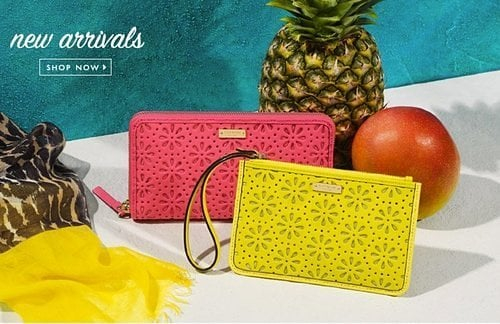 Extra 25% Off Kate Spade; 30% Off Madewell
