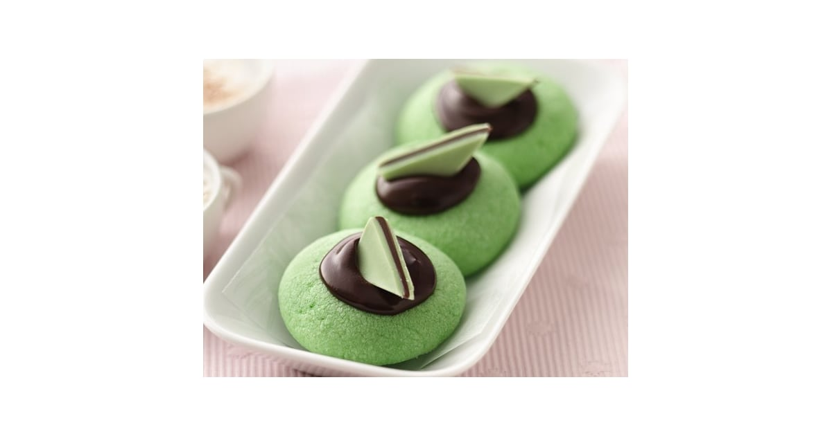 Chocolate-Mint Thumbprints | 28 Sweet St. Patrick's Day ...
