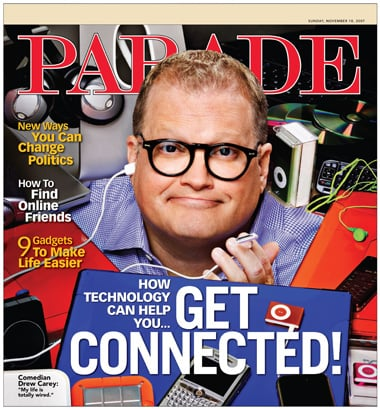 Drew Carey Compares New Phones to Sex