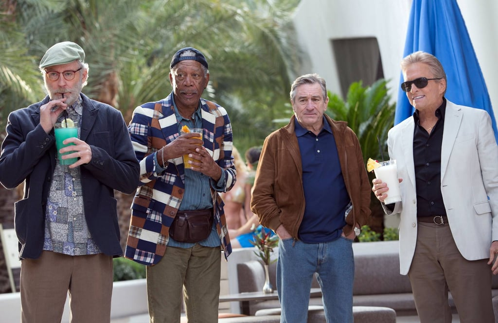 Last Vegas  What it's about: Four old geezers (Michael Douglas, Robert De Niro, Morgan Freeman, and Kevin Kline) head to Las Vegas for a bachelor party that turns into a wild night. Why we're interested: I'm unabashedly excited for this movie. It's like The Hangover meets Old Dogs, starring America's greatest actors getting silly! What's not to love? When it opens: Nov. 1 Watch the trailer for Last Vegas.  Source: CBS Films