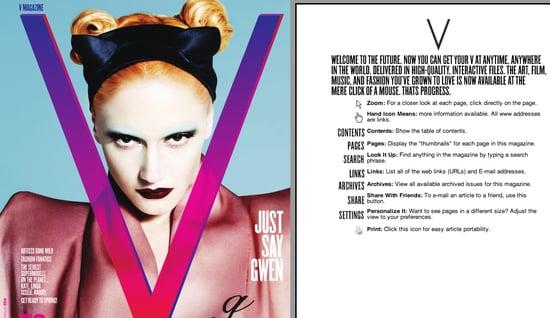 Fab Site: V Magazine Goes Digital