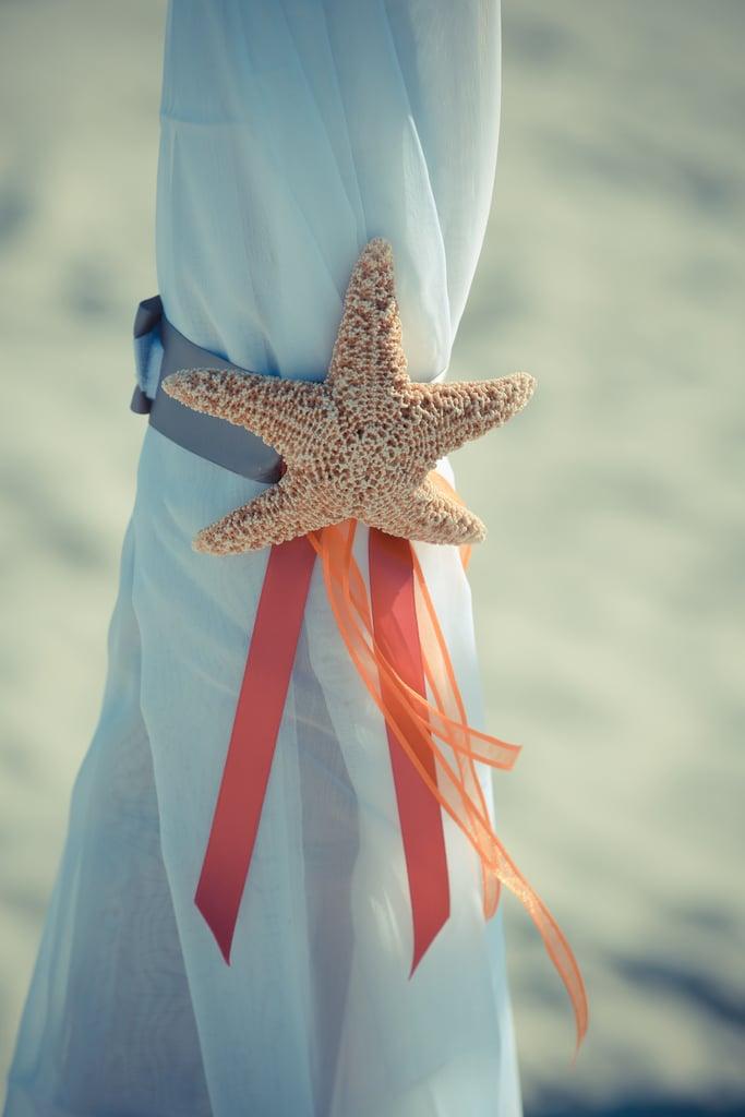 4. Starfish Ceremony Decor