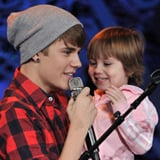 Justin Bieber Singing With Sister (Video)