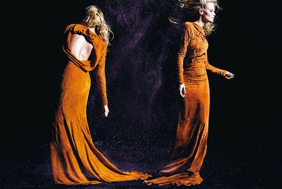 Windswept Natasha Poly Blows Nina Ricci Fall 2008 Out of the Water