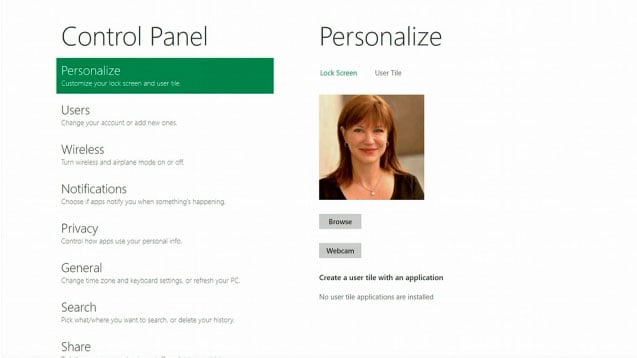 Personalize Your Profile