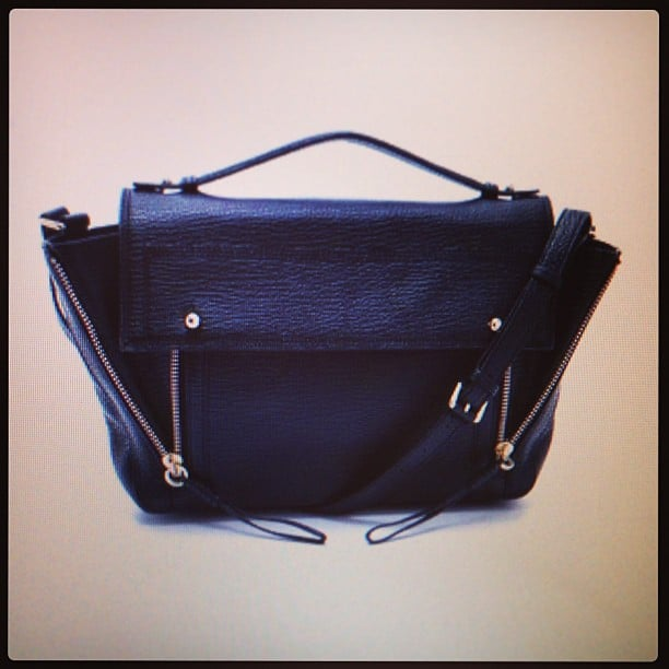 3.1 Phillip Lim bag, be ours. That hardware is to die for!