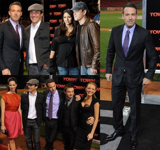 Pictures of Ben Affleck, Matt Damon, Blake Lively, Jon Hamm at Fenway Park Premiere of The Town