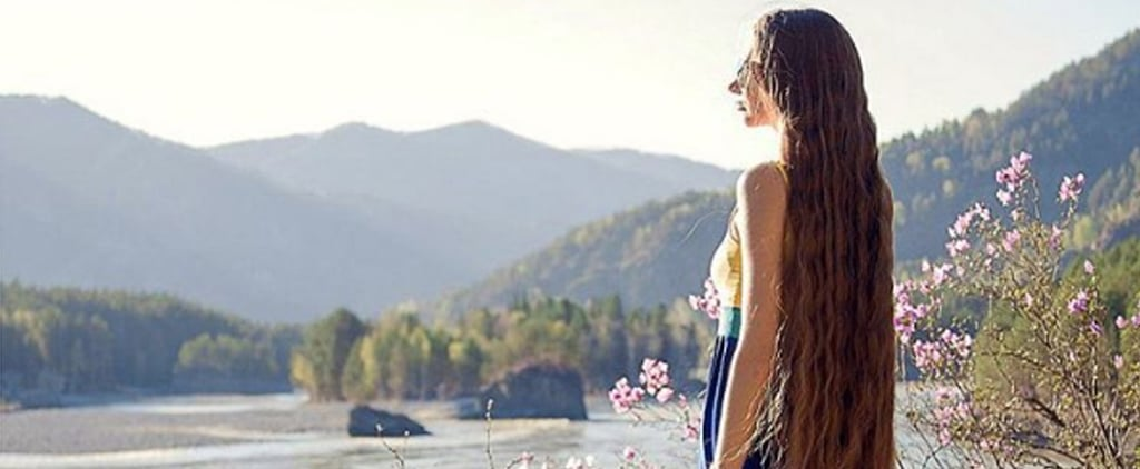 This Woman's Ultralong Hair Makes Her Look Like Rapunzel IRL
