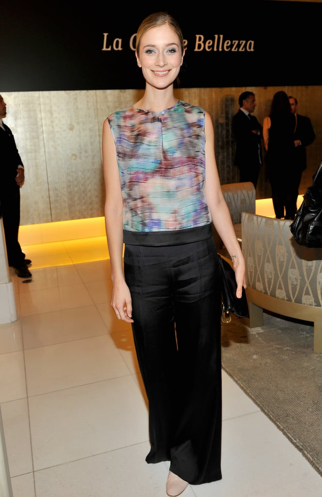 Caitlin Fitzgerald at Giorgio Armani Celebrates Martin Scorsese and Paolo Sorrentino