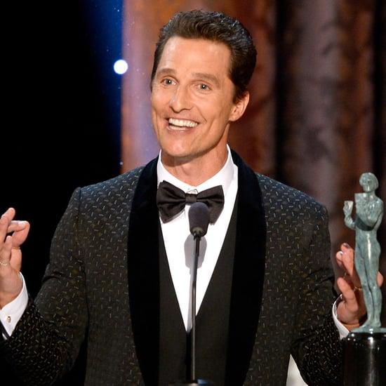 Matthew McConaughey's SAG Awards Speech Video