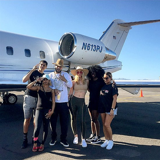 French Montana Admires Iggy Azalea's Famed Booty as They Head to Cabo with Friends