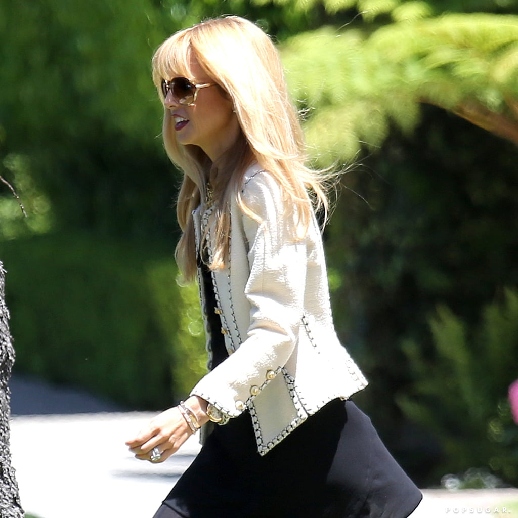 Rachel Zoe Steps Out Smiling After Pregnancy Report