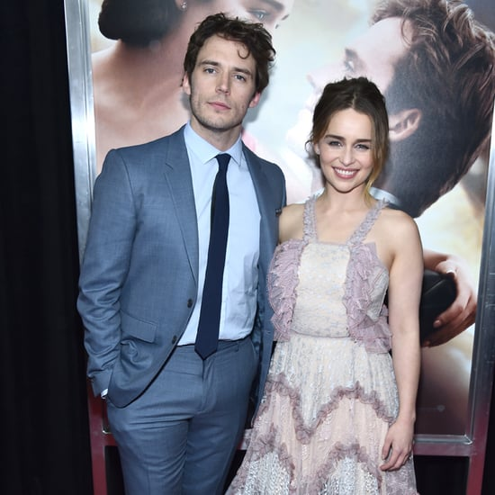Emilia Clarke and Sam Claflin at Me Before You NYC Premiere