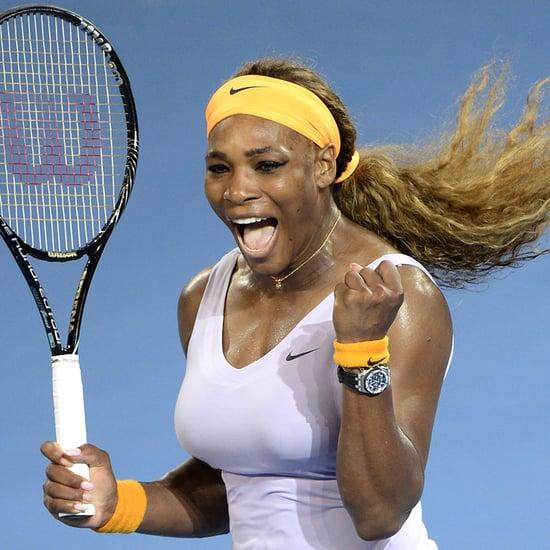 Serena Williams Chasing Phone Thief in Surveillance Video