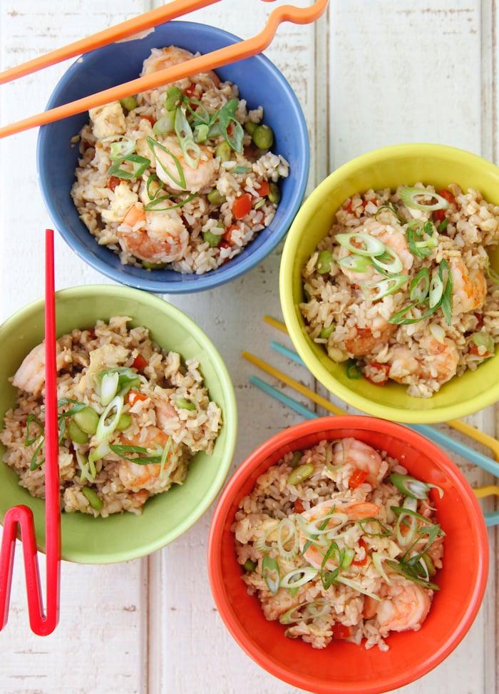 Shrimp Unfried Rice