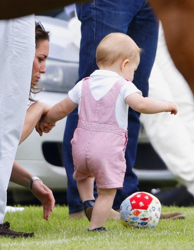 Prince George Loves Soccer, Too!
