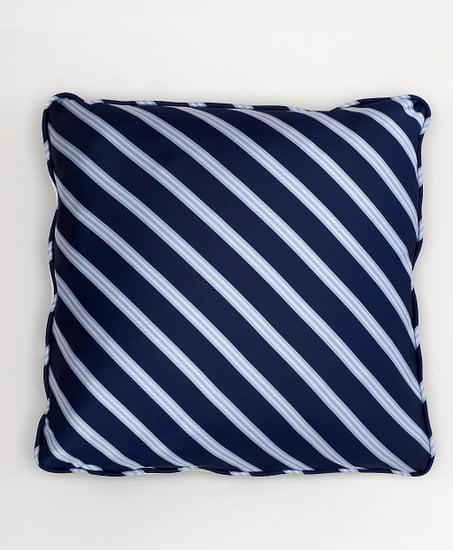 Diagonal Repp Stripe Square Pillow ($268)