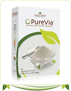 Are Sweeteners PureVia and Truvia Safe?