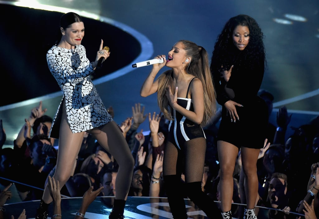 Nicki Minaj Nearly Missed a Wardrobe Malfunction During Her Raunchy VMAs Performance