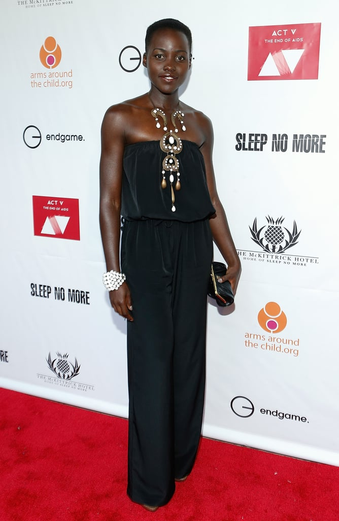 Lupita Nyong'o at a Charity Event in New York