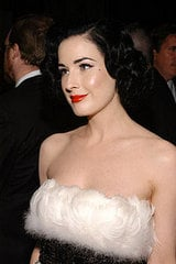 Dita on Glamour Vs Beauty