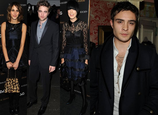 Extensive Gallery of Photos of The Cast of New Moon and Guests including Ed Westwick, Alexa Chung, Agyness at New York Premiere