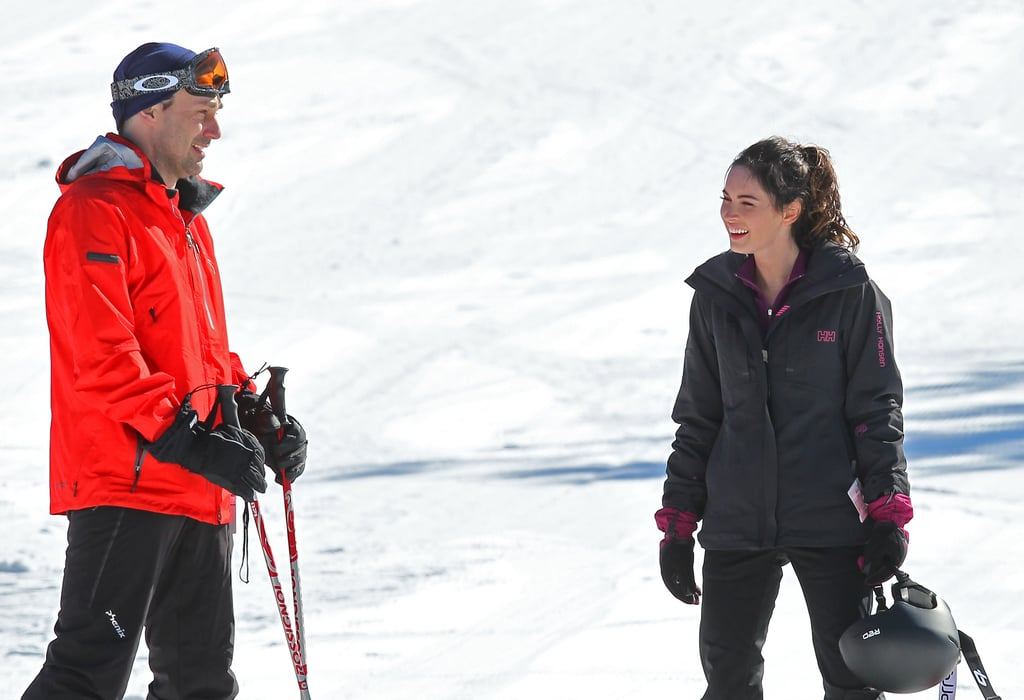 It's a Slippery Slope For Megan Fox and Jon Hamm on the Set of Friends With Kids