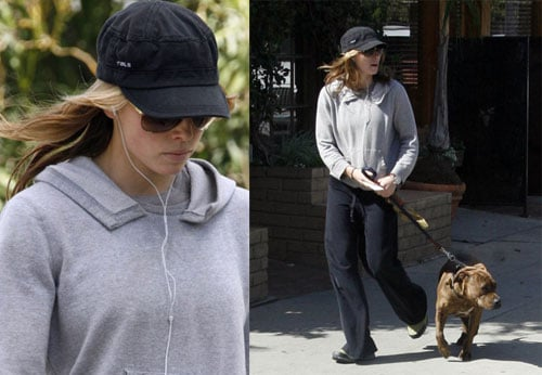 Jessica Walks Dog and Gears Up for Chuck and Larry