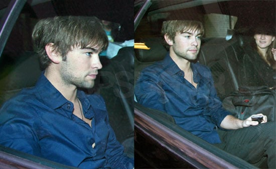 Chace Crawford Stops By Regis and Kelly in NYC