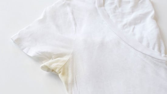 How To Prevent Yellow Pit Stains On White T-Shirts