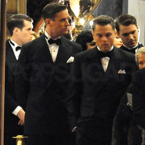 Pictures of Leonardo DiCaprio on the Set of J Edgar