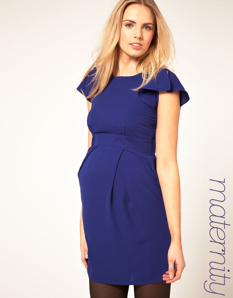 Asos Dress With Fluted Sleeve ($64)