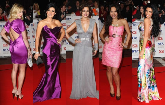 NTA Red Carpet Pictures National Television Awards 2010 Including Cheryl Cole, Katie Price, Dannii Minogue, Fearne Cotton