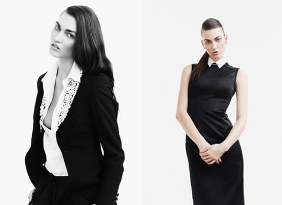 Tallulah Morton Gets Her Man-ish Style On For Fallen Magazine, snapped by Nadine Ottawa