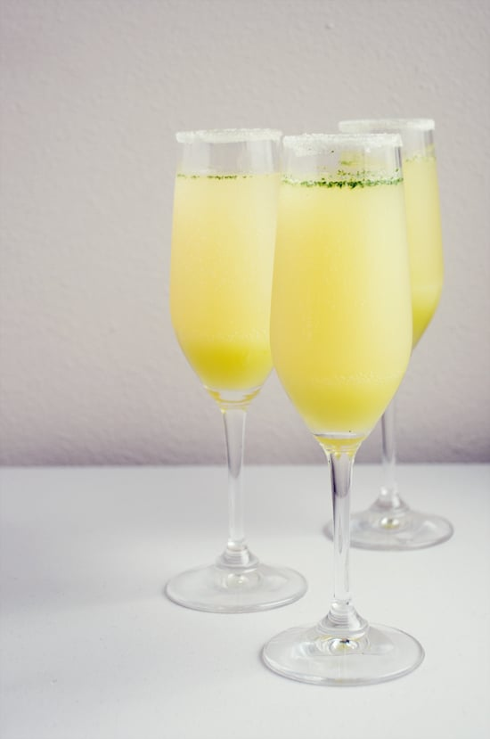 Limoncello Champagne Cocktail