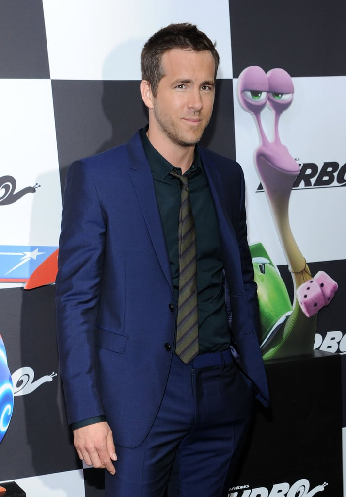 Ryan Reynolds attended the NYC premiere of Turbo on Tuesday.