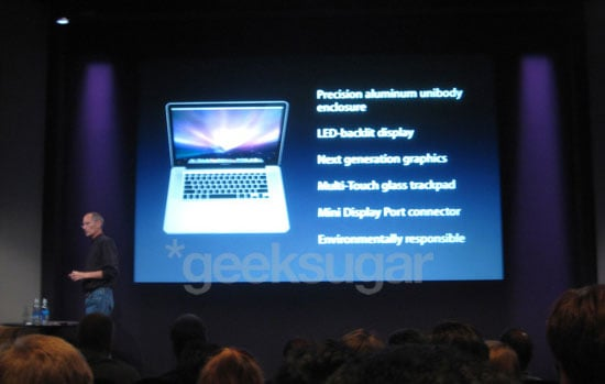 Sugar Shout Out: Geek Liveblogs From the 2008 Apple Event!
