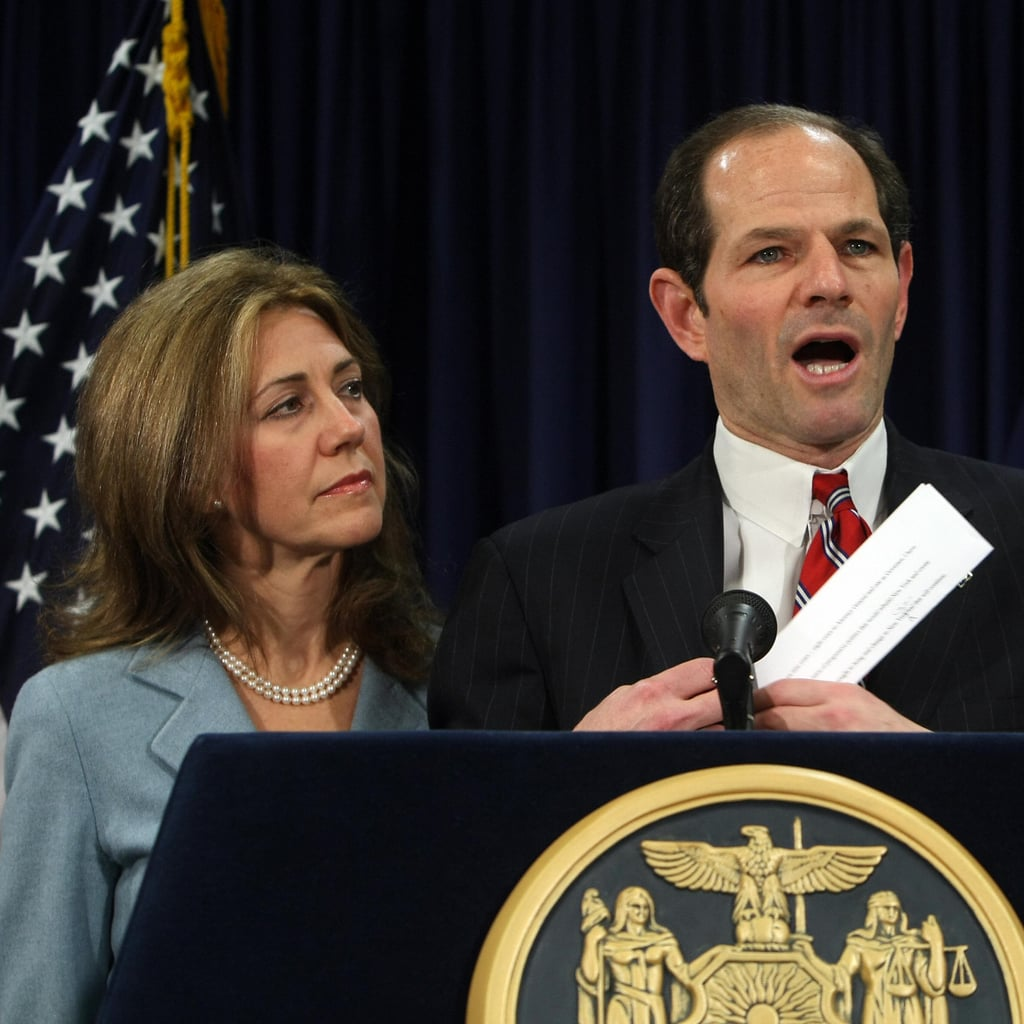 """Silda Spitzer """"All of us face challenges in life. But we still have to use our internal power to move forward and try to respond the best we can, keeping in clear sight what is important to us."""" Eliot Spitzer's wife told Vogue why she decided to stay with her husband following his prostitution scandal."""
