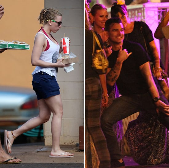 Scarlett Johansson and Nate Naylor Hawaii PDA Pictures