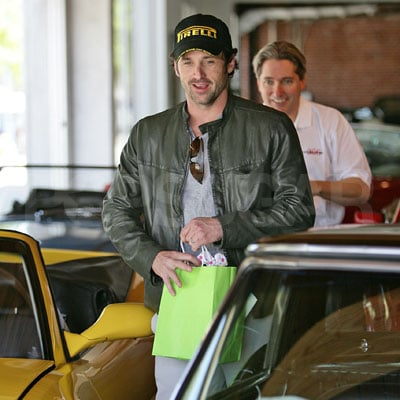 Patrick Dempsey Shops for Cars in LA