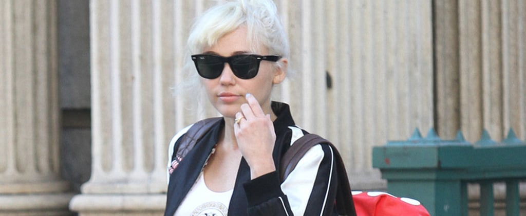The Highlight of Miley Cyrus's Big Apple Look Happens to Be on Her Ring Finger