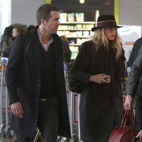 Blake Lively and Ryan Reynolds in Paris | 2012 Pictures