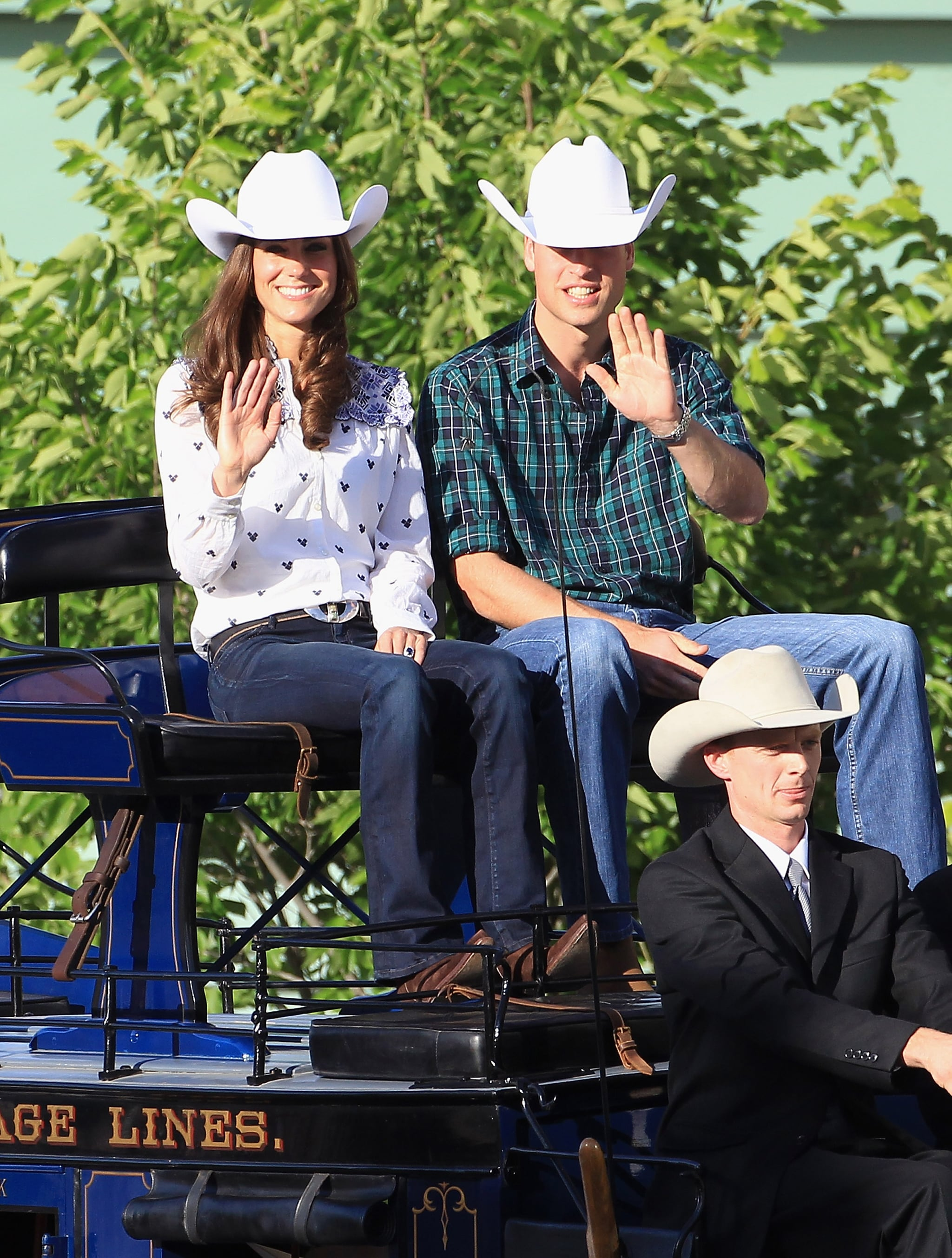 """These cowboy hats are very amusing!"""