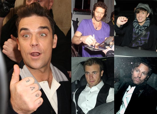 Photos of Robbie Williams Reuniting With Take That Gary Barlow, Jason Orange, Mark Owen, Howard Donald Children In Need Concert