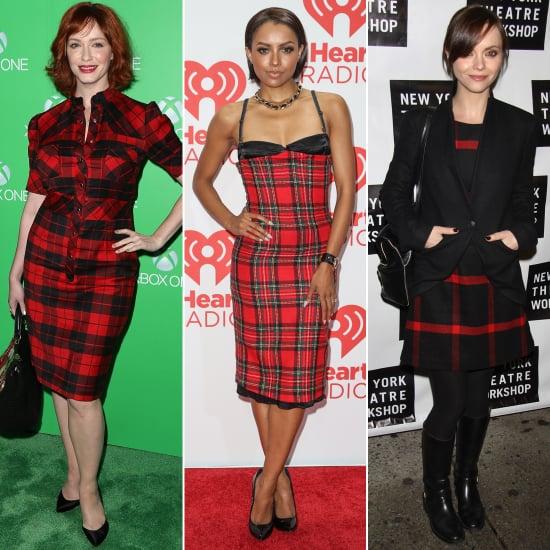 Tartan Dresses For Winter | Celebrity Fashion