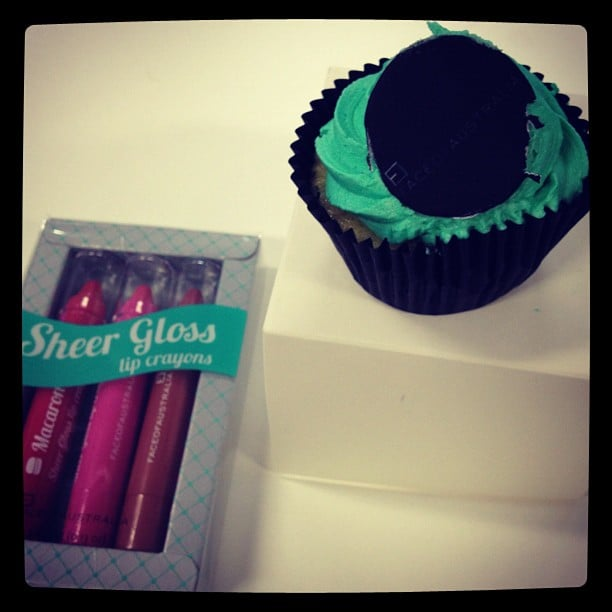Tasty treats thanks to Face of Australia to launch their new Sheer Gloss Lip Crayons!