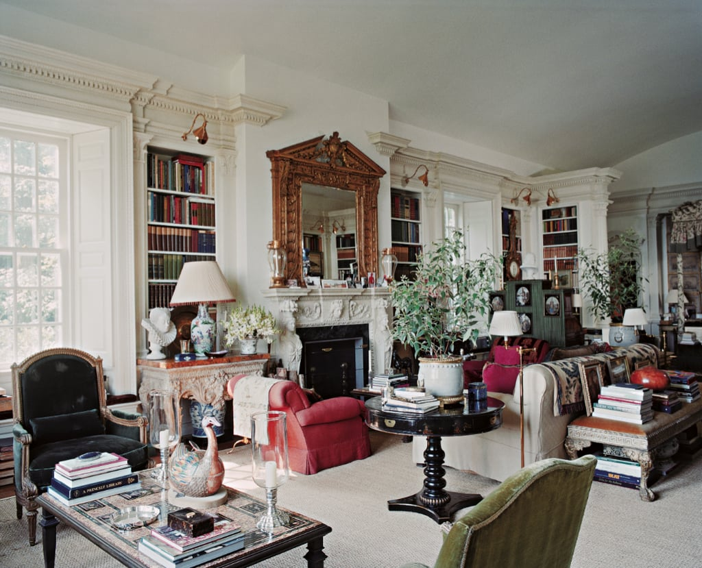 Oscar de la Renta's home in Kent, Connecticut