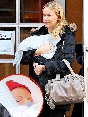 Lil Links: Naomi Watts and Lil Samuel Hit the Town!